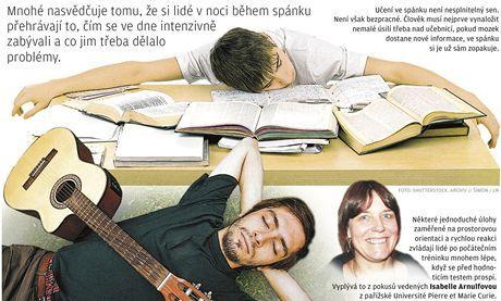Spánek je pro konsolidaci myšlenek nenahraditelný. Mozek při něm třídí nové informace na potřebné a nepotřebné