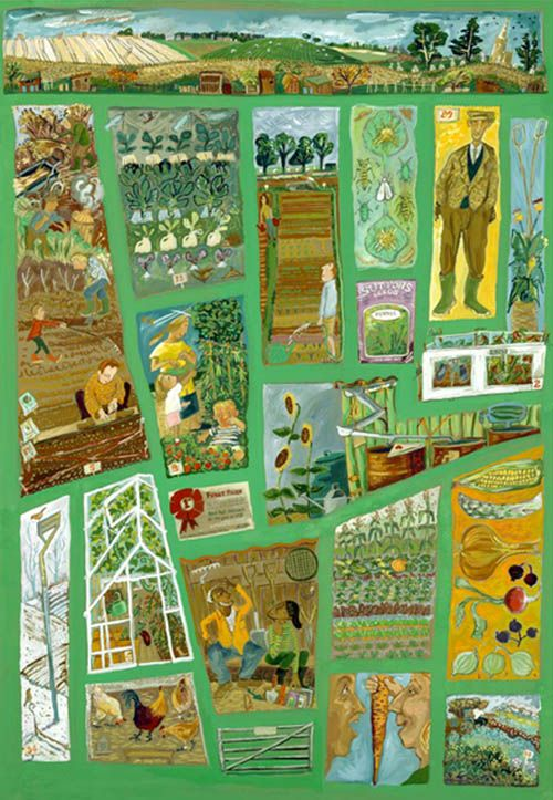 The Allotment - Liz Anelli sort of like a map me thinks