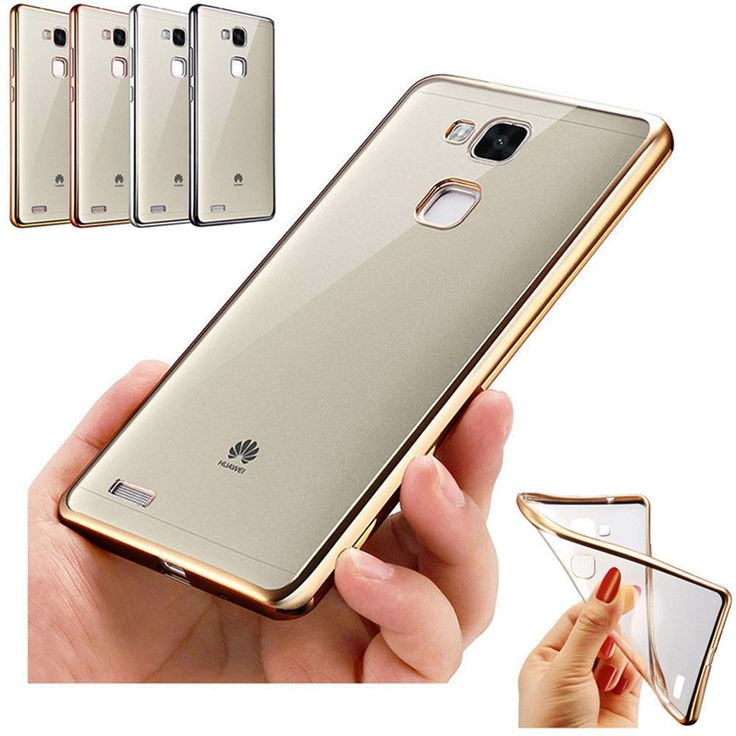 3 Colors TPU ShockProof Silicone Rubber Clear Case Cover For HuaWei P9 P9 Lite #UnbrandedGeneric