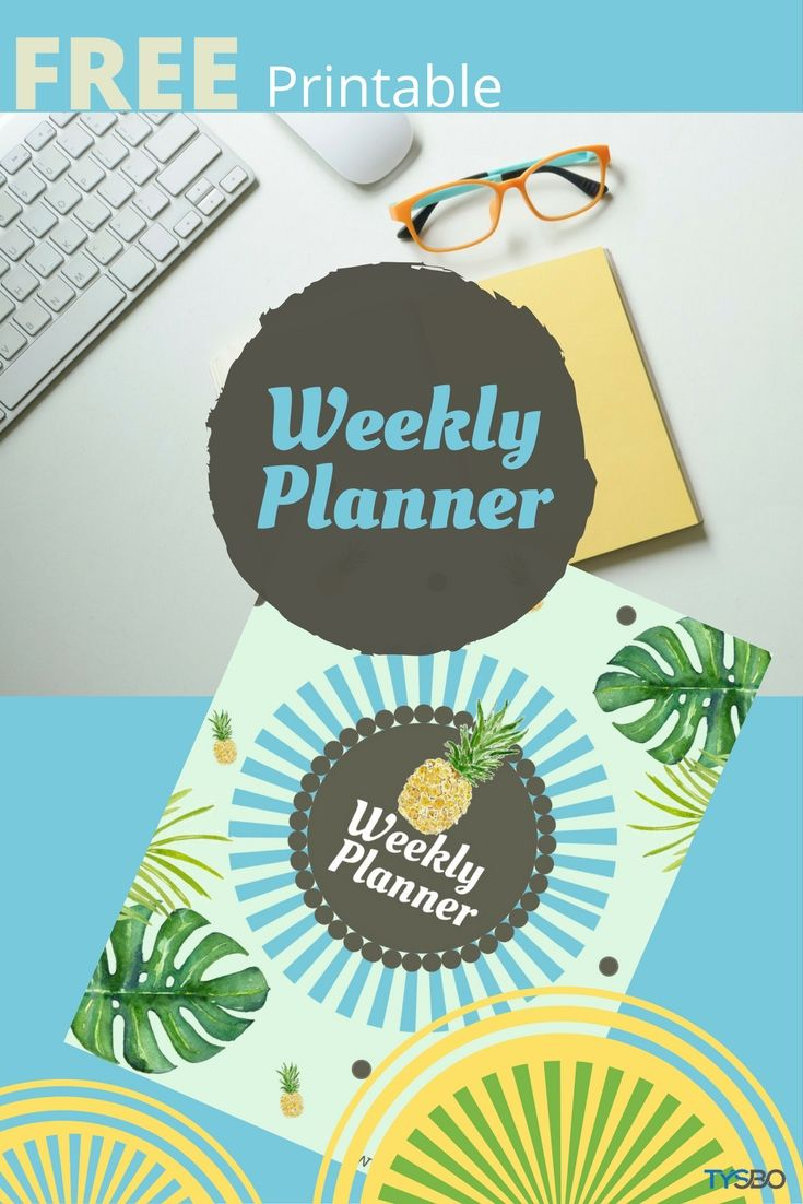 Start your busy week with a business planner. Grab this printable for FREE =)