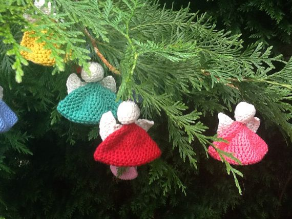 3 Guardian Angels handmade croching