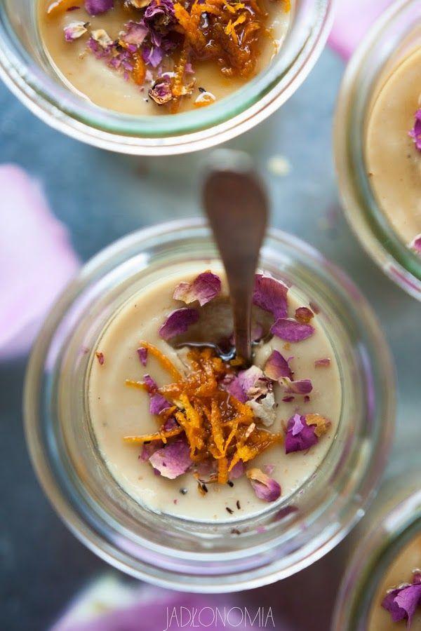 jadłonomia · roślinne przepisy: Różany mus z tahiny