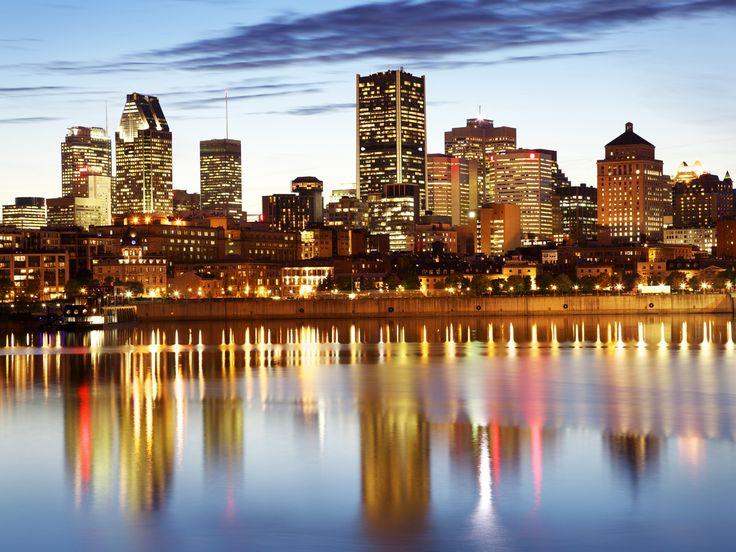 Vue nocturne Montréal