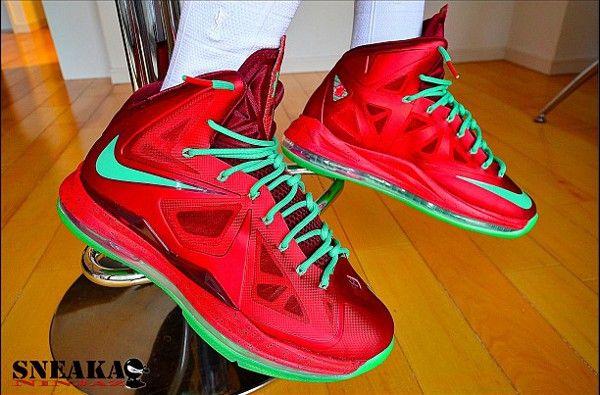 Nike Lebron 10 Christmas