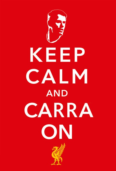 Keep Calm & Carra On