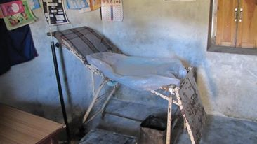 sharmali baitadi - The current birthing bed... would you want your family to deliver here?