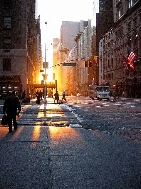 Early Morning Sunrise in New York City  #WGTA #spsf