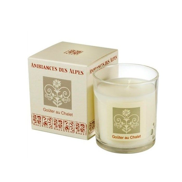 Party at the Chalet scented candle 165 g - AMBIANCES DES ALPES