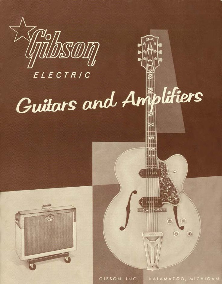 Gibson Guitars and Amplifiers.