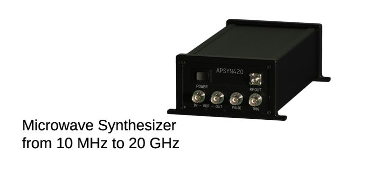 The APSYN420 is a wideband low phase-noise synthesizer operating up to 20 GHz. The module has a mHz frequency resolution uses a high-stability internal reference.  Anapico is a ISO9001:2008 certified technology leader developing and selling advanced test & measurement instruments for a broad range of RF & microwave applications.  Contact Us: http://cccsolutions.eu/contact-us