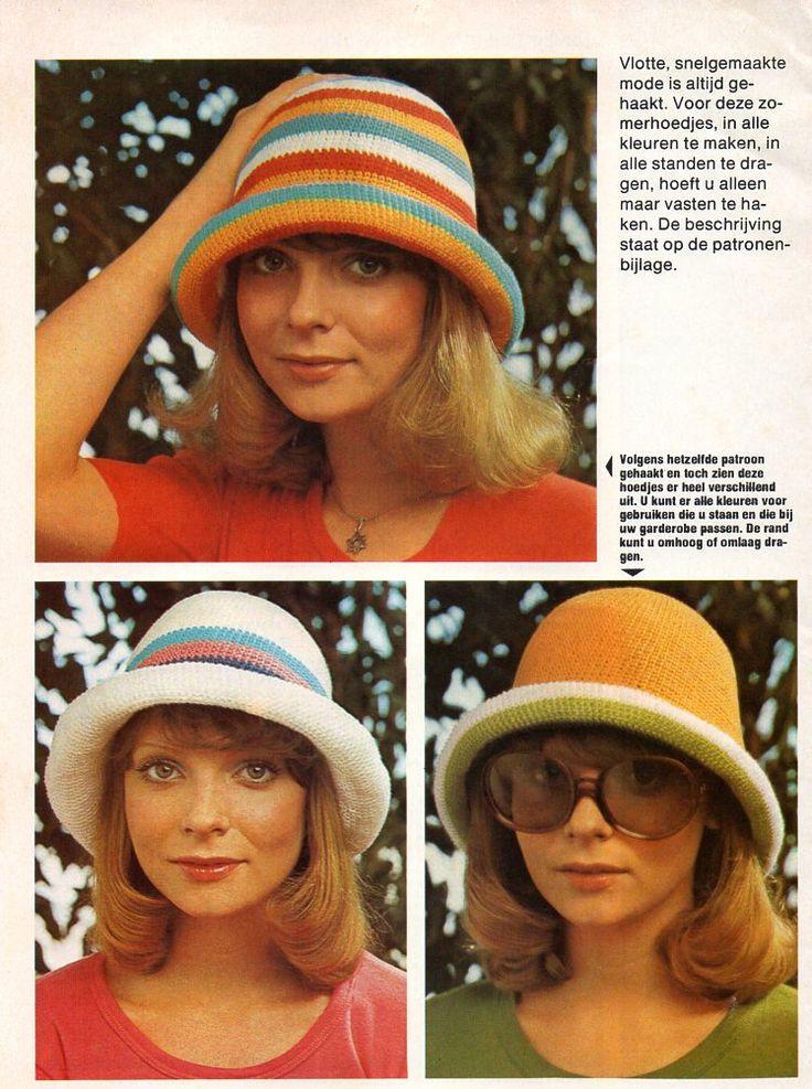 Hoedje haken 1975 1