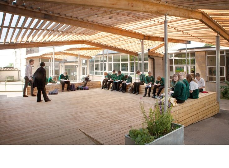 Modern Classroom Structure : Covered outdoor classrooms for secondary schools google