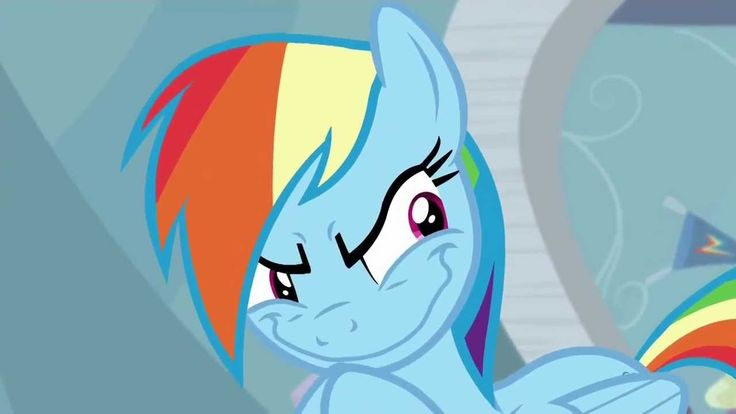 I'll just have to stop winter! - Rainbow Dash. Rainbow Dash has become The Grinch.