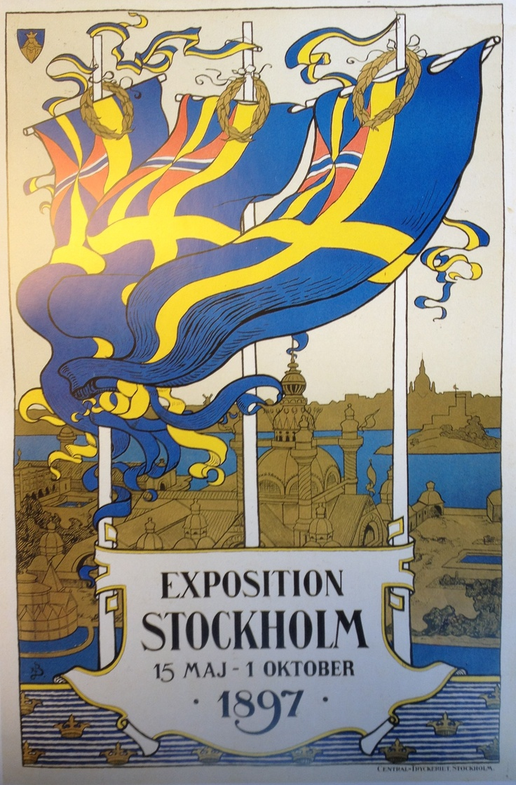 World expo in Stockholm 1897