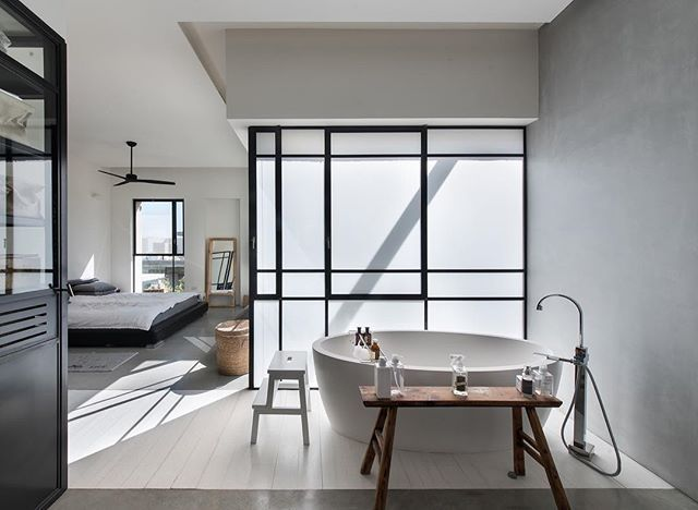 House in Tel Aviv, Israel by @neuman_hayner_architects. Photographed by @amitgosher. #interiors #design