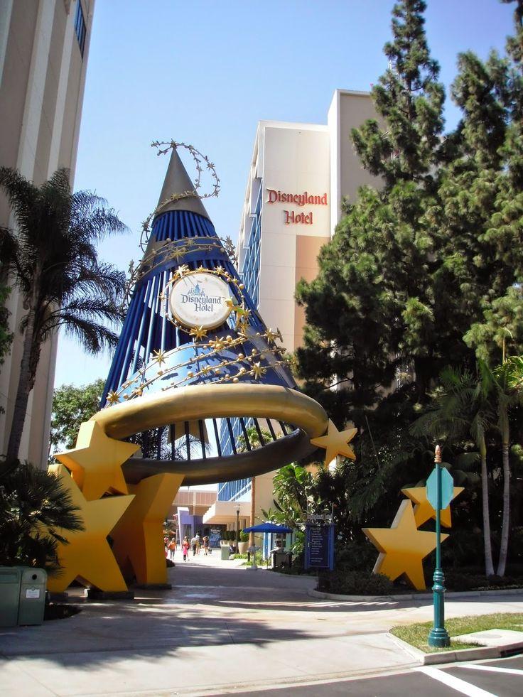 Miquelli's Amerikablog: Hotel: Disneyland Hotel – Anaheim, Californië