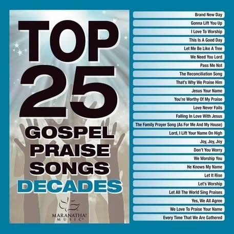 Maranatha! Gospel - Top 25 Gospel Praise Songs Decades (2018)  Artist: Maranatha! Gospel Album: Top 25 Gospel Praise Songs Decades Release Date: February 9 2018 Genres: Praise & Worship Contemporary Format | Bitrate: MP3 | 320 Kbps Size: 249 Mb http://ift.tt/2EjaUKh