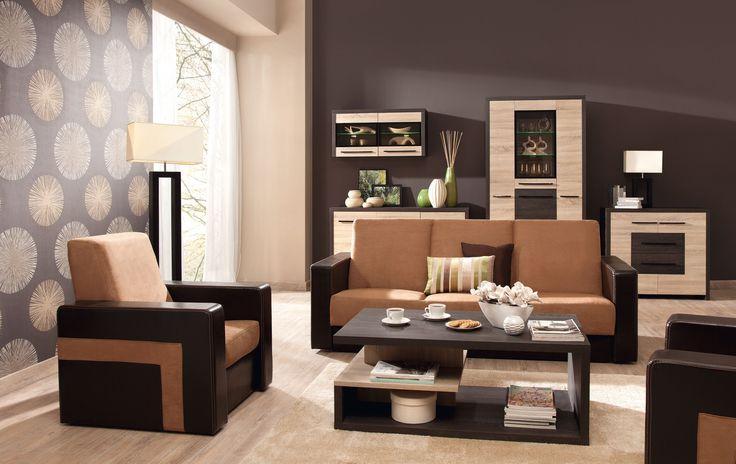 nowoczesne meble do pokoju dziennego