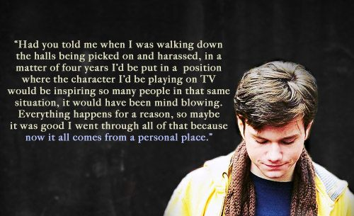 chris colfer quotes | Chris Colfer Photos - Chris Colfer Images Ravepad - the place to rave ...
