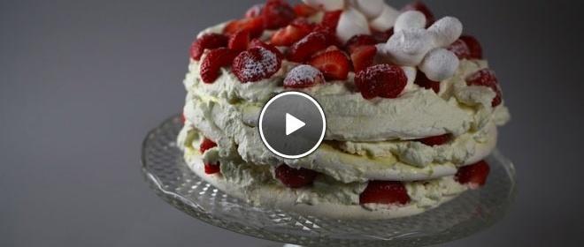 Nance's Vacherin taart