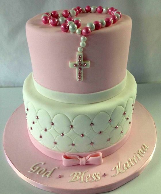 Ideas para decorar tortas de bautizo 1