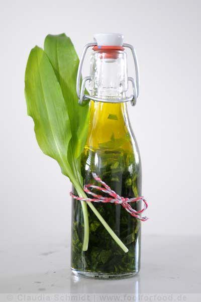 Rezept mit Bild für Bärlauchöl