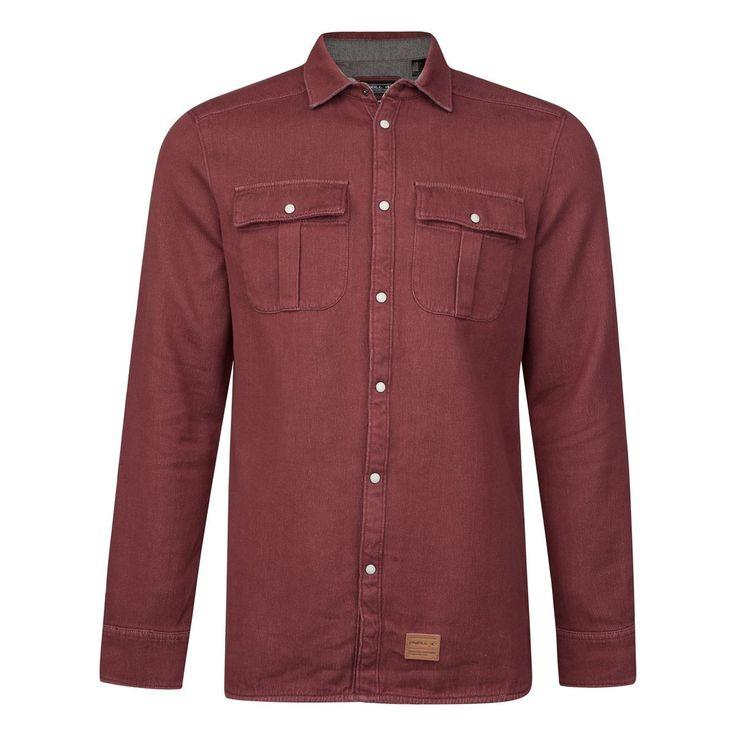 Camisa O'neill Violator Solid Flannel #moda #camisas #lifestyle #surf #snowboard #ski