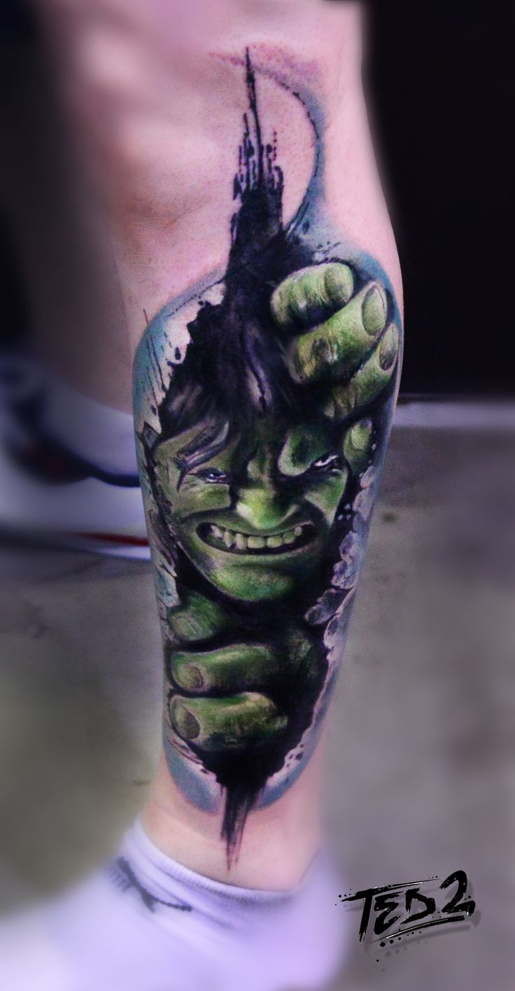 hulk,watercolor hulk,hulk tattoo,hulk marvel,marvel tattoo,tattoo hulk,watercolor hulk,watercolour hulk,ted2,ted bartnik,surf-ink-tattoo,hulk tatuarz,tattoo,green hulk,grüner Hulk