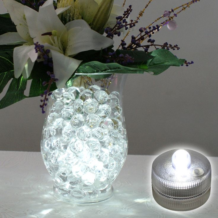 Submersible led tea light white clever wedding ideas i