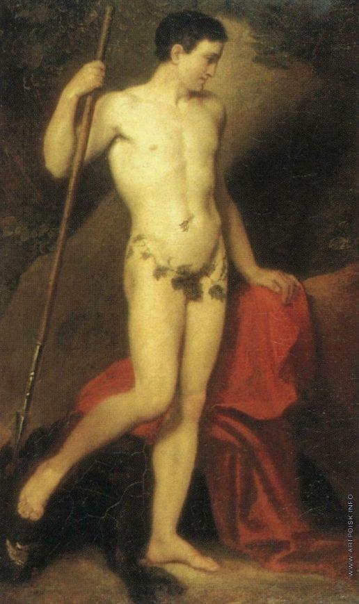1810е. Обнаженный юноша с копьем. ГРМ