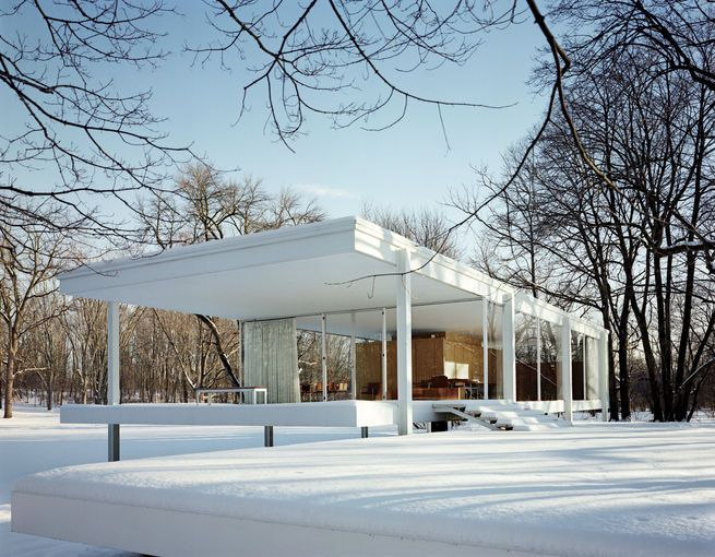 74 Best Images About Farnsworth House Mies Van Der Rohe On