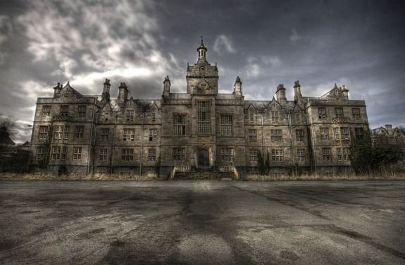 Denbigh Asylum – Denbigh, North Wales. Opened in the 1840's and closed in 1995. Has now since started to decay.