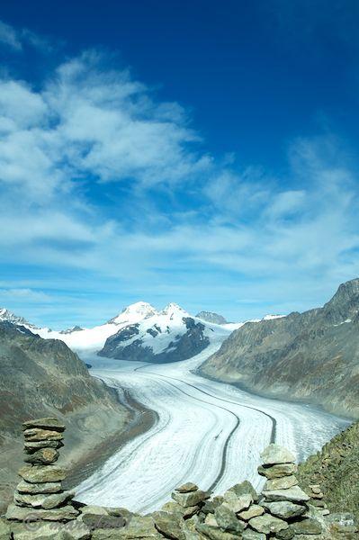 Aletsch glacier upper part - Fiesch, Valais, Switzerland. Copyright: Daniel Solinger