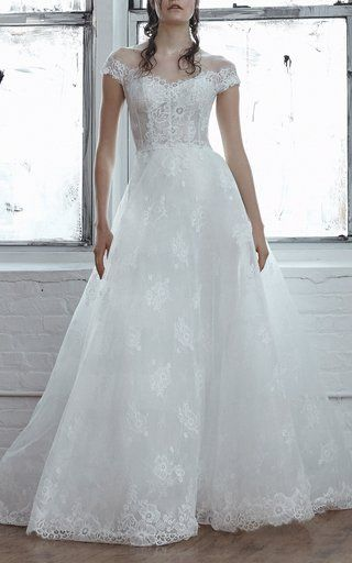 Cielo Floral Lace Gown by Isabelle Armstrong