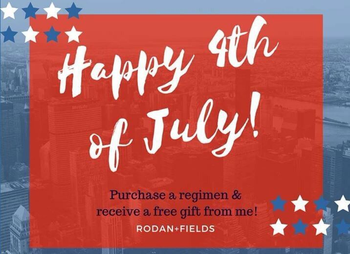 Happy 4th! Special from July 3-5, 2016. Hop over to Facebook.com/kendraburrkennedy & msg me or email kendrakennedyrandf@yahoo.com.