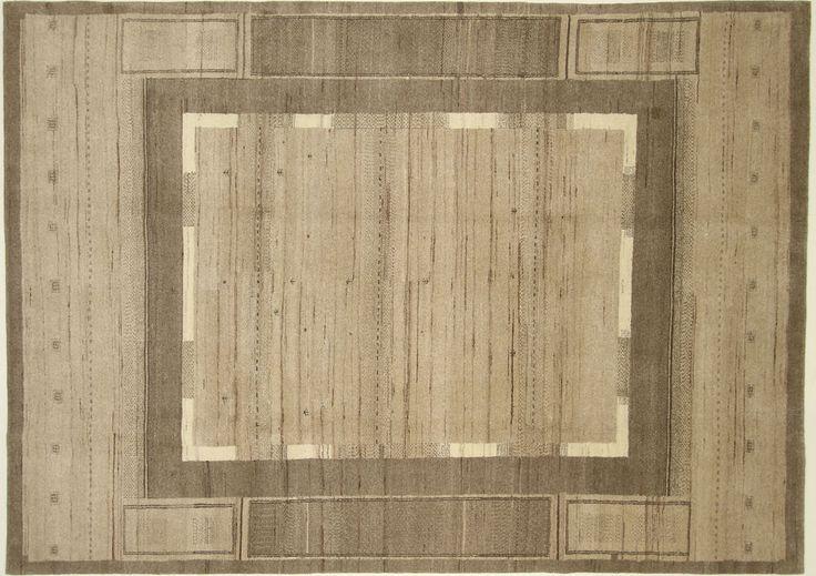 Loribaft  Gabbeh Teppich  Modern  Alfombra oriental carpets and rug 330 x 237 cm