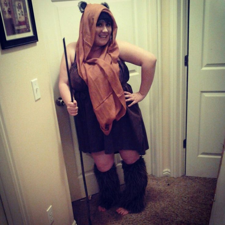 113 best my con costumes images on pinterest costumes ewok my diy ewok cosplay costume solutioingenieria Gallery