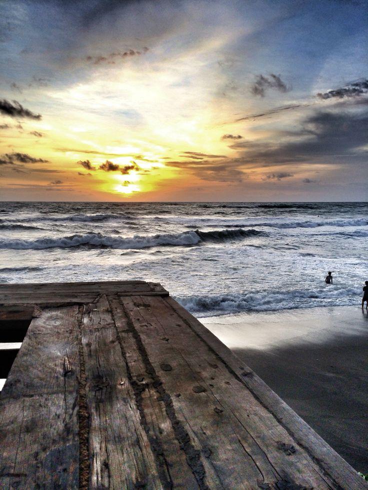 Echo beach sunset view