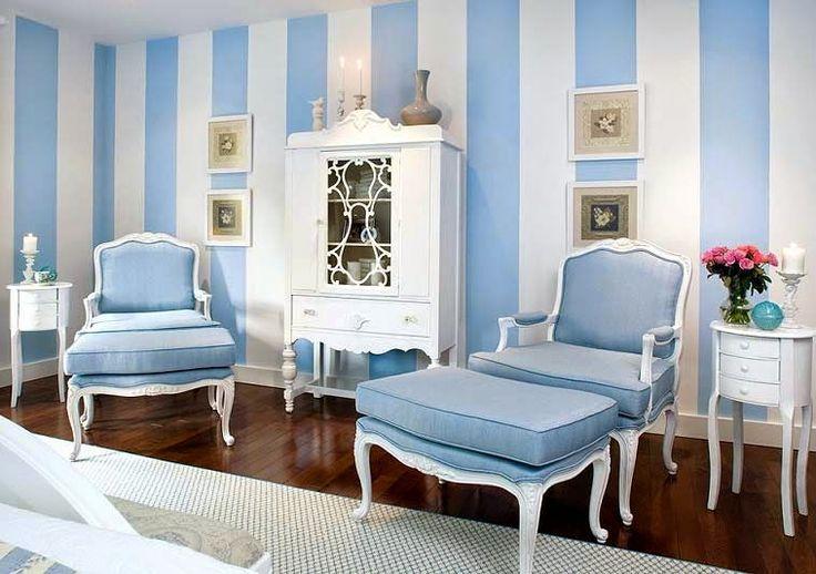синяя мебель в интерьере - Поиск в Google
