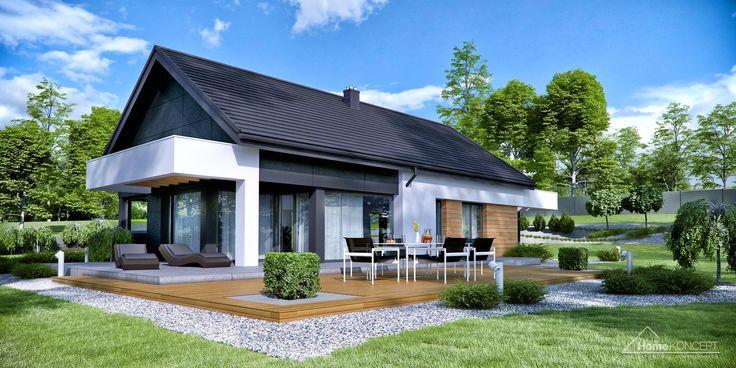 Projekt domu HomeKONCEPT-44   HomeKONCEPT