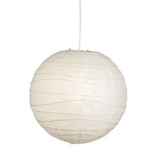 Man skal heller ikke undervuredere effekten af at have et par rispapirslamper til at hænge;-) 59 kr for den største