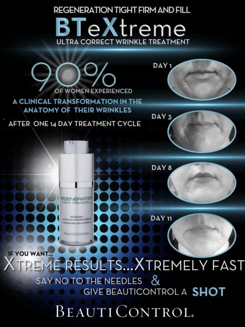 #BeautiControl Regeneration Tight, Firm & Fill BTeXtreme Ultra Correct Wrinkle Treatment