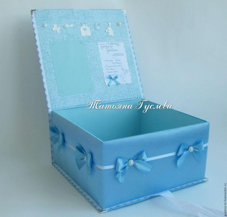 Купить Шкатулка в ткани Мамины сокровища - подарок, мальчик, девочка, мама, счастье, нооврожденный, женщина
