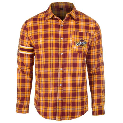 Cleveland Cavaliers Shirt - Logo Mens Long Sleeve Flannel Shirt