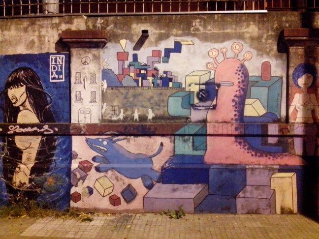 Arte en pared.