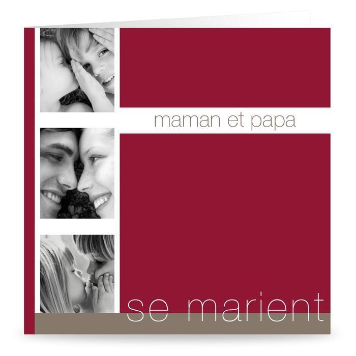 Extrêmement 205 best Faire part de mariage images on Pinterest | Wedding cards  PD76