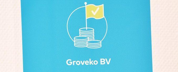 Groveko ontvangt Financieel Gezond Award van Graydon