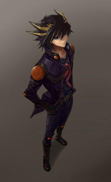 Tags: Anime, Yu-Gi-Oh!, Yu-Gi-Oh 5Ds, Yusei Fudo, Kuro02