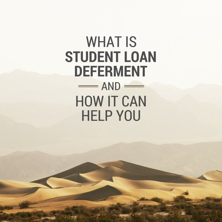 Student loan deferment lets you temporarily suspend making payments on your student loans. There are ways to qualify, so check it out.