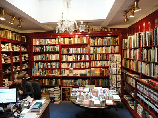 Bookshops to go shopping to